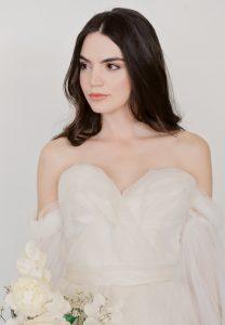bridal portrait shot on fujifilm processed at Photovision